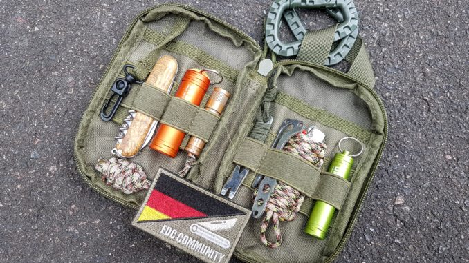 Everyday carry - EDC Ausrüstung