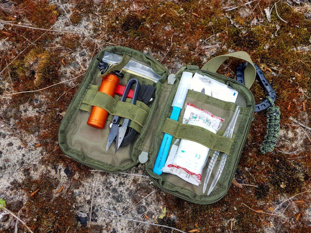 Meine Everyday carry Checkliste - Erste Hilfe Set