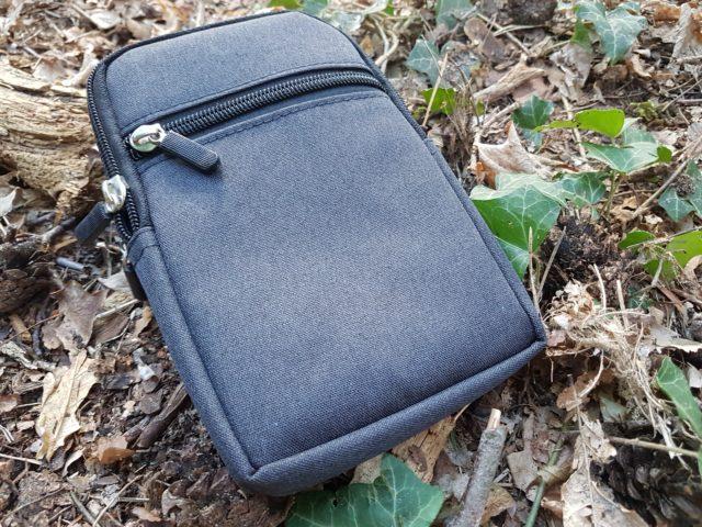 schwarzer Pouch - EDC Tasche