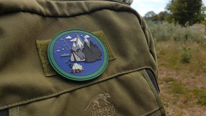 BUSHCRAFT PATCH – OUTDOOR PATCH – limitiert auf 100 Stück