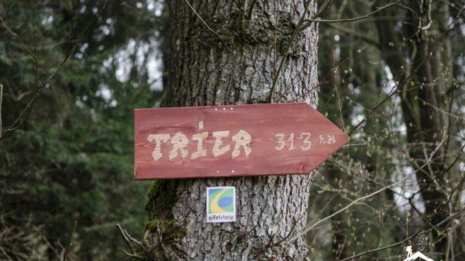 Eifelsteig Wanderweg - von Aachen nach Trier