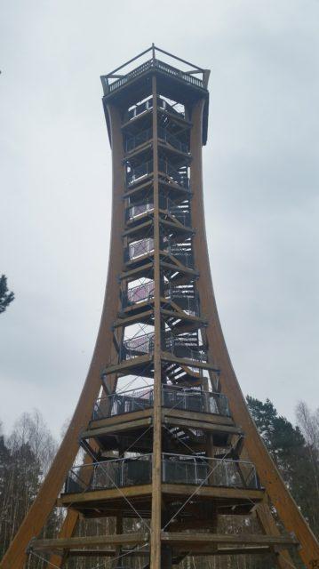 Der Aussichtsturm Felixsee bei Spremberg