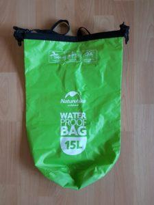 NatureHike 15 Liter Packsack