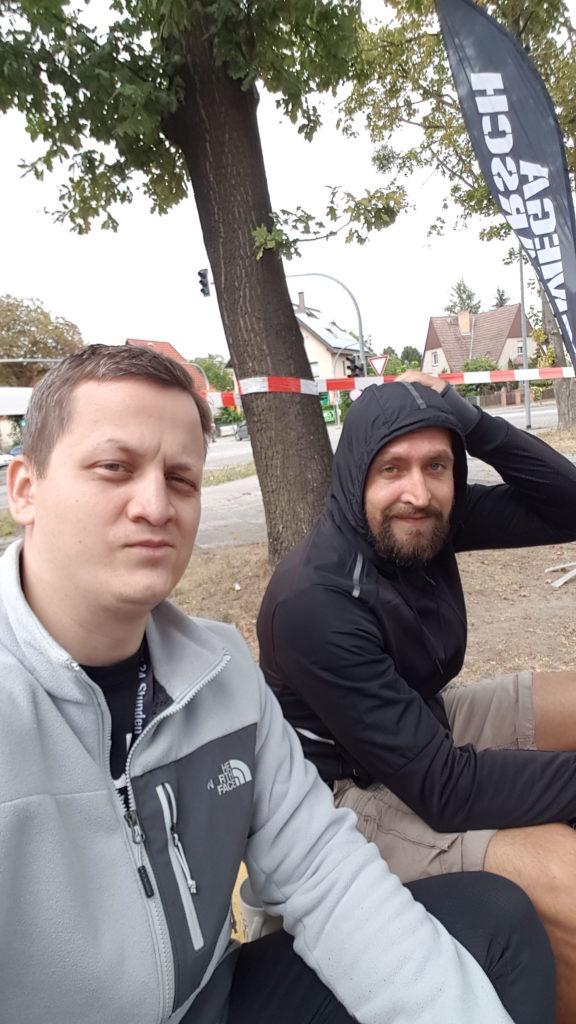 Megamarsch Berlin - geschafft