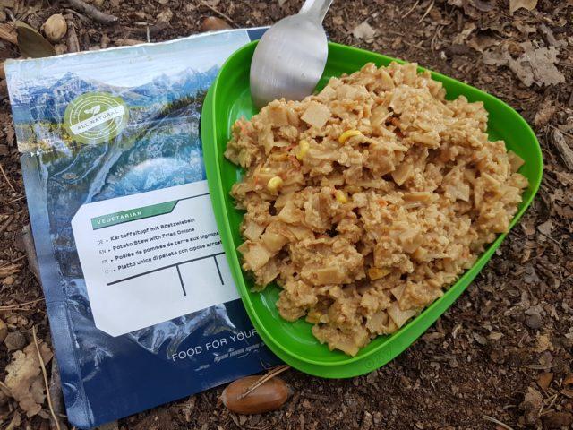Trek'n Eat - Kartoffeltopf mit Röstzwiebel (vegetarisch)
