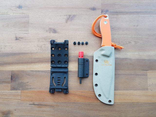 Vorstellung: Wolfgangs Outdoormesser - Inklusive Feuer-Starter und Notpfeife