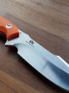 Wolfgangs Outdoormesser - mit G10 Griffschalen