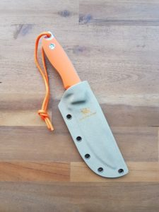 Wolfgangs Outdoormesser mit Keydexscheide