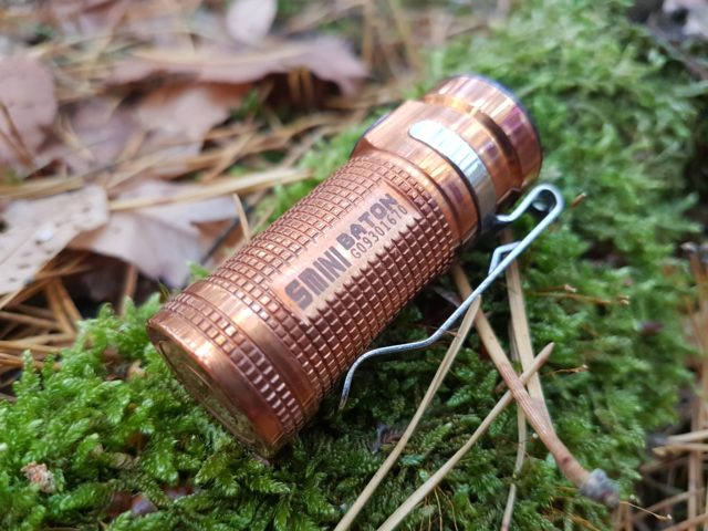 Olight S1 Mini Kupfer Review