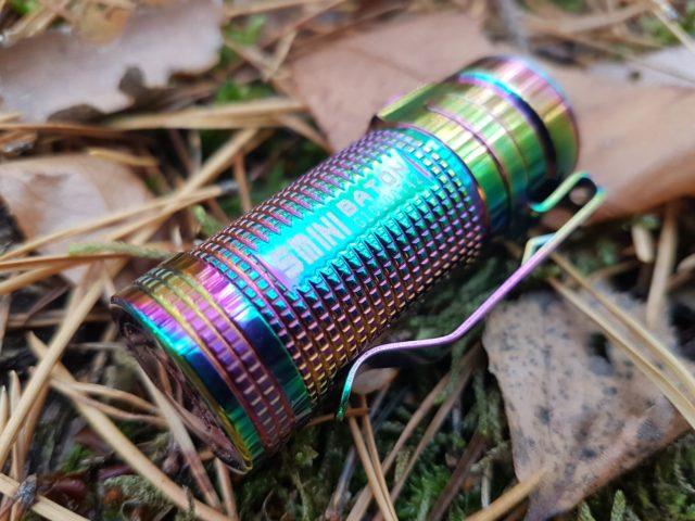 Olight S1 Mini Baton Titan Rainbow Review