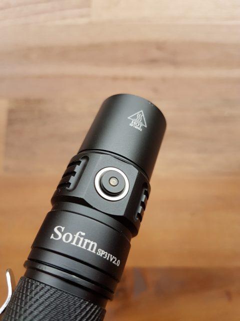 Die Sofirn SP31 V2.0 Taschenlampe