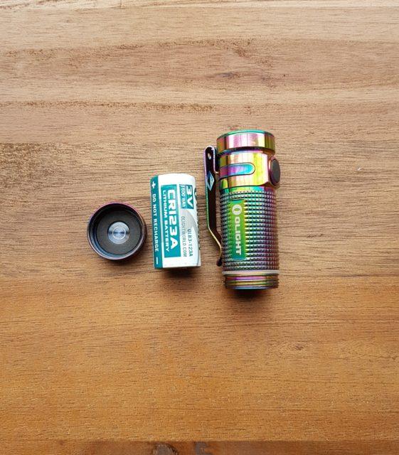 Olight S1 Mini Baton Titan Rainbow - EDC Taschenlampe