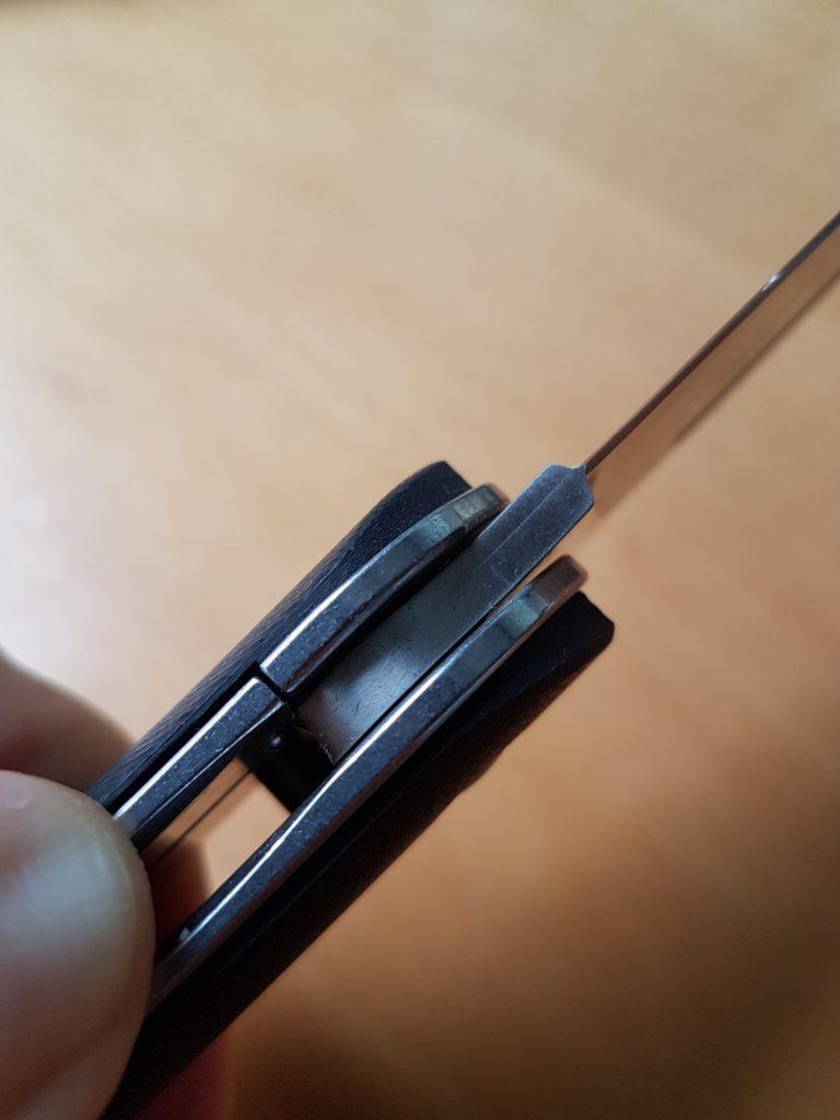 Wolfgangs Zweihand Klappmesser - Liner-Lock