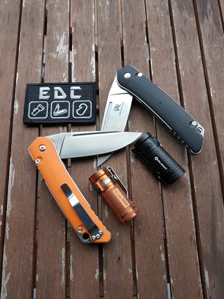 Wolfgangs Zweihand Klappmesser – EDC Messer