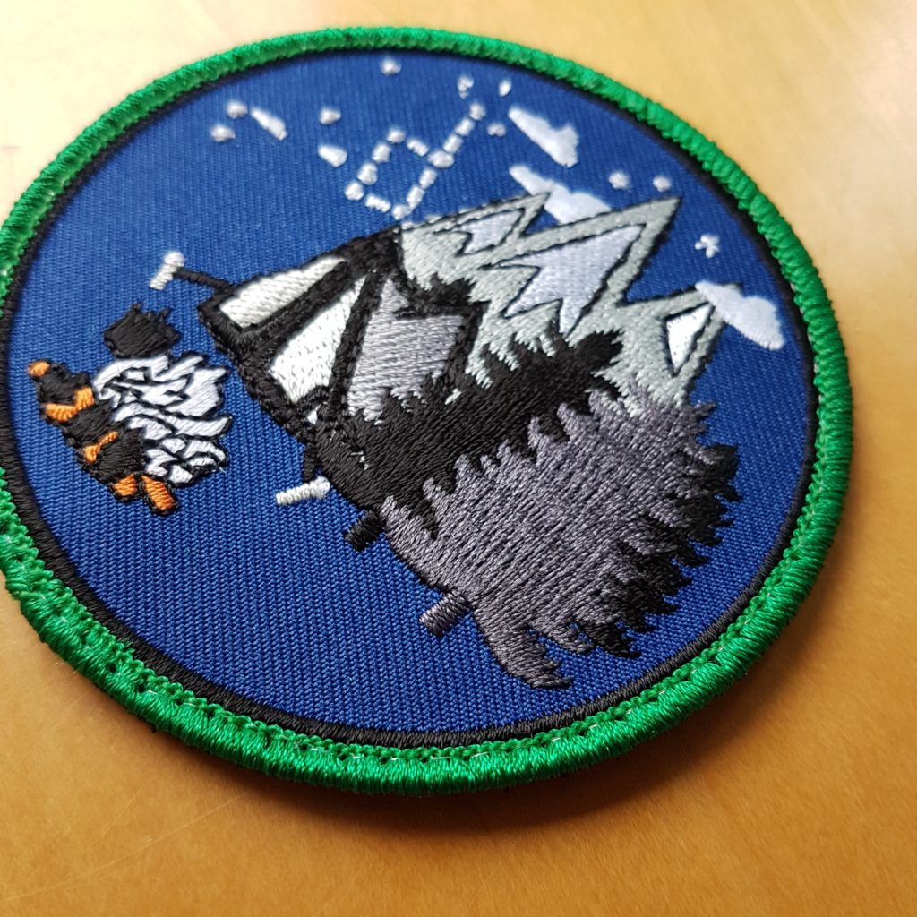 Der BUSHCRAFT PATCH V1 – ENJOY CAMPING