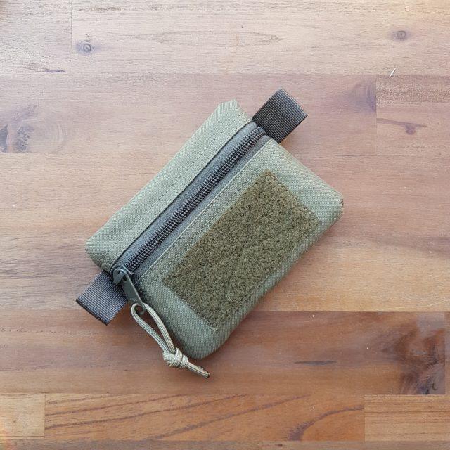 EDC Pocket Organizer mit Patchfläche