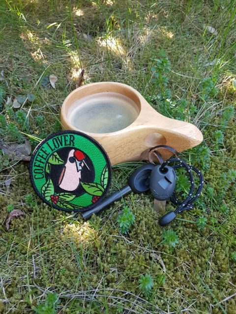 Outdoor Kaffee Patch – Bushcraft und Outdoor