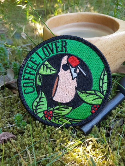 Outdoor Kaffee Patch – Coffee Lover