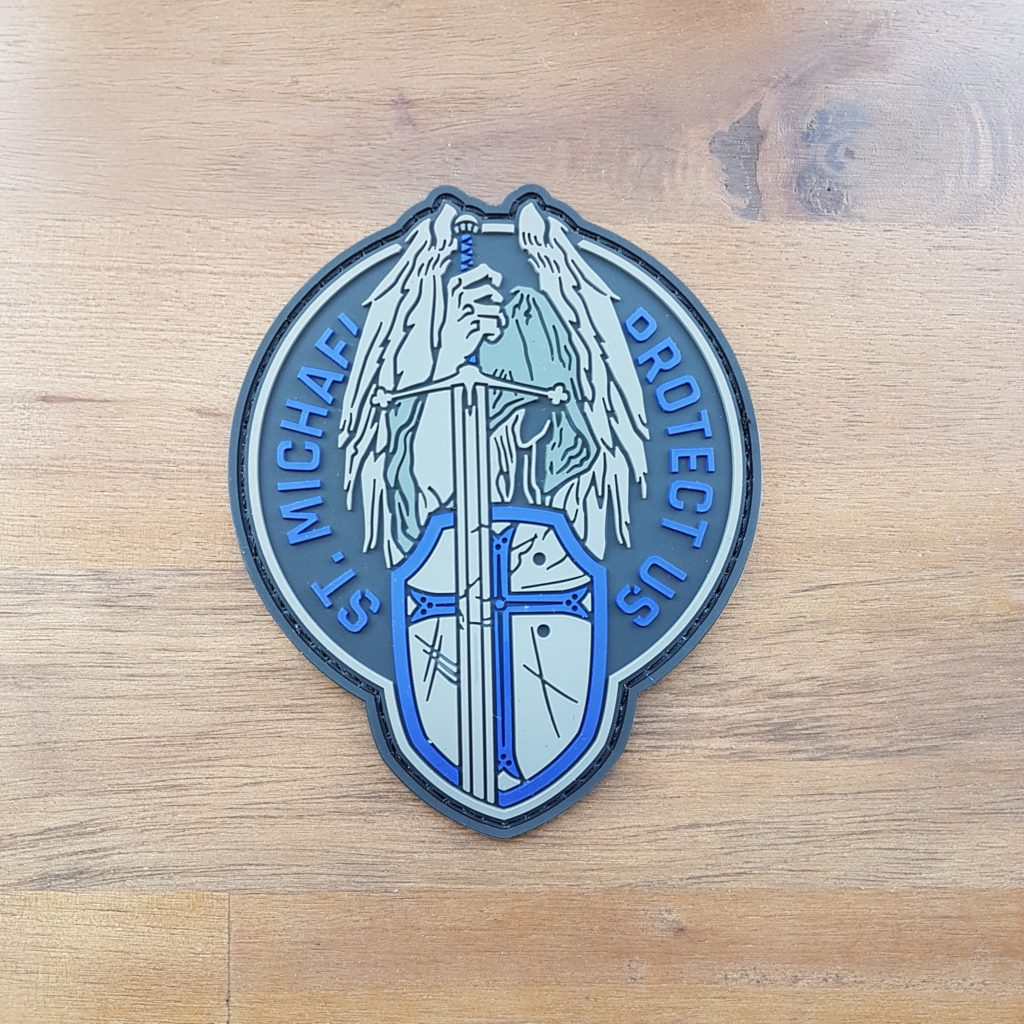 ST. MICHAEL Rubber PATCH
