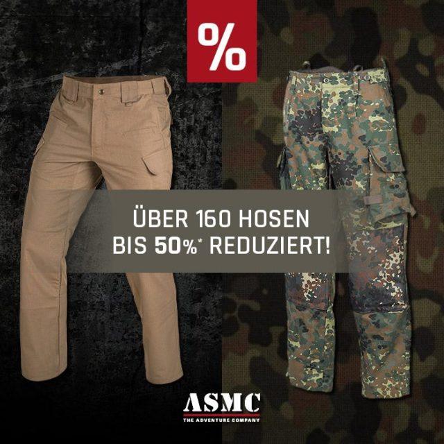 Hosen Sale bei ASMC