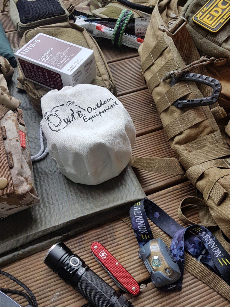 Bug Out Bag für Katastrophen