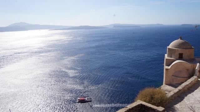 Santorin im Sommer