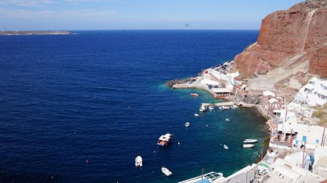 Inselleben auf Santorin