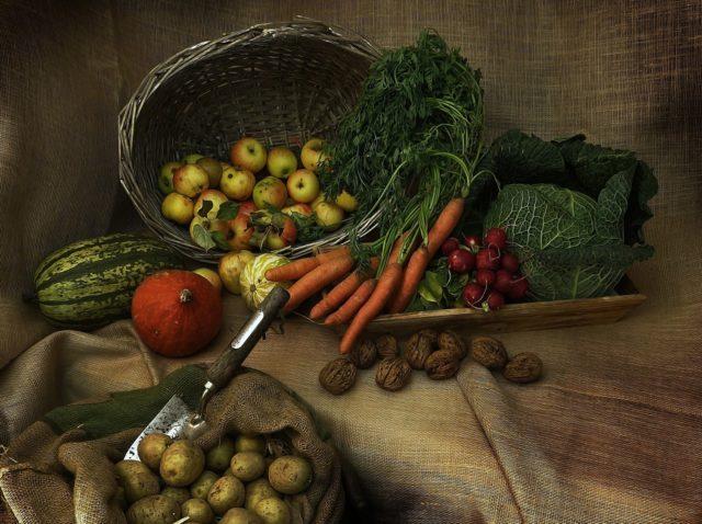 Vorratshaltung von Lebensmitteln