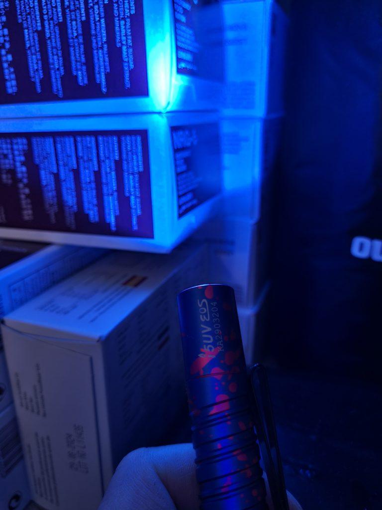 UV Taschenlampe
