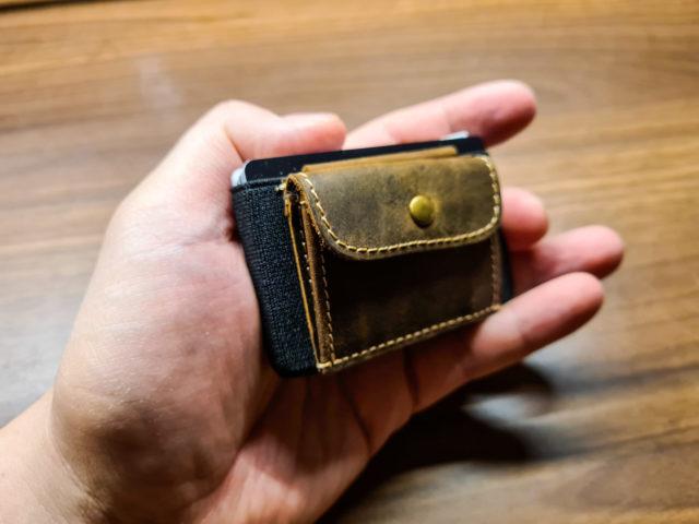 Wallet mit Münzfach