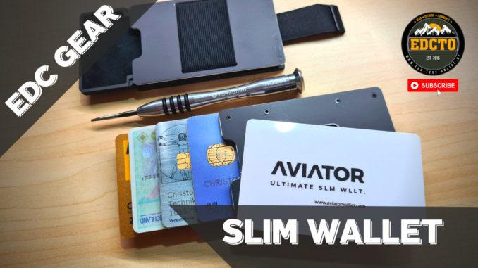 Slim Wallet von Aviator
