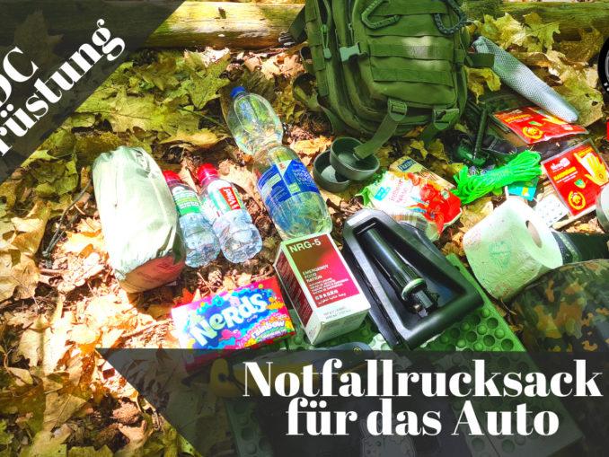 Survivalrucksack Auto